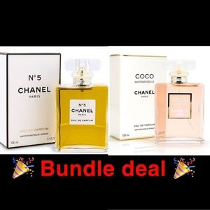 Chanel 2 bottle bundle coco + no5